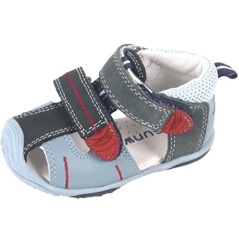 de2eee718eb0 Chlapčenské kožené sandále